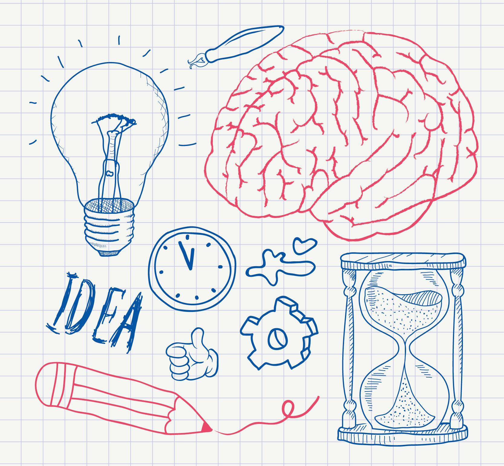 脳・アイデアイメージ